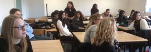 Les étudiants en alternance rencontrent leurs aînés