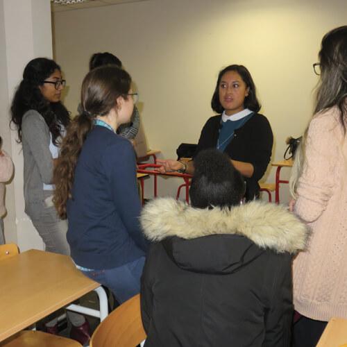 les  u00e9tudiants de gea rencontrent leurs mentors passeport