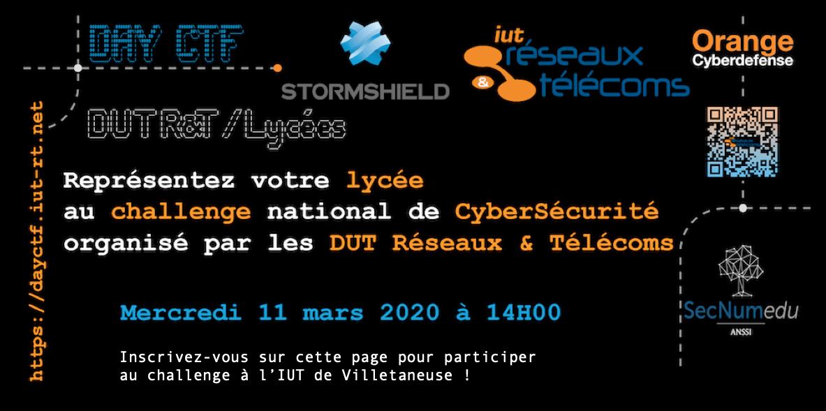 Challenge Cybersécurité DUT R&T