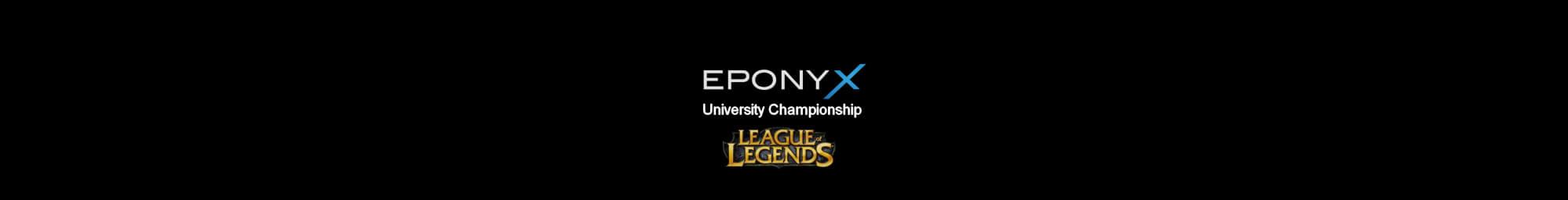 Une équipe du DUT Info remporte l'Eponyx Univ. Championship
