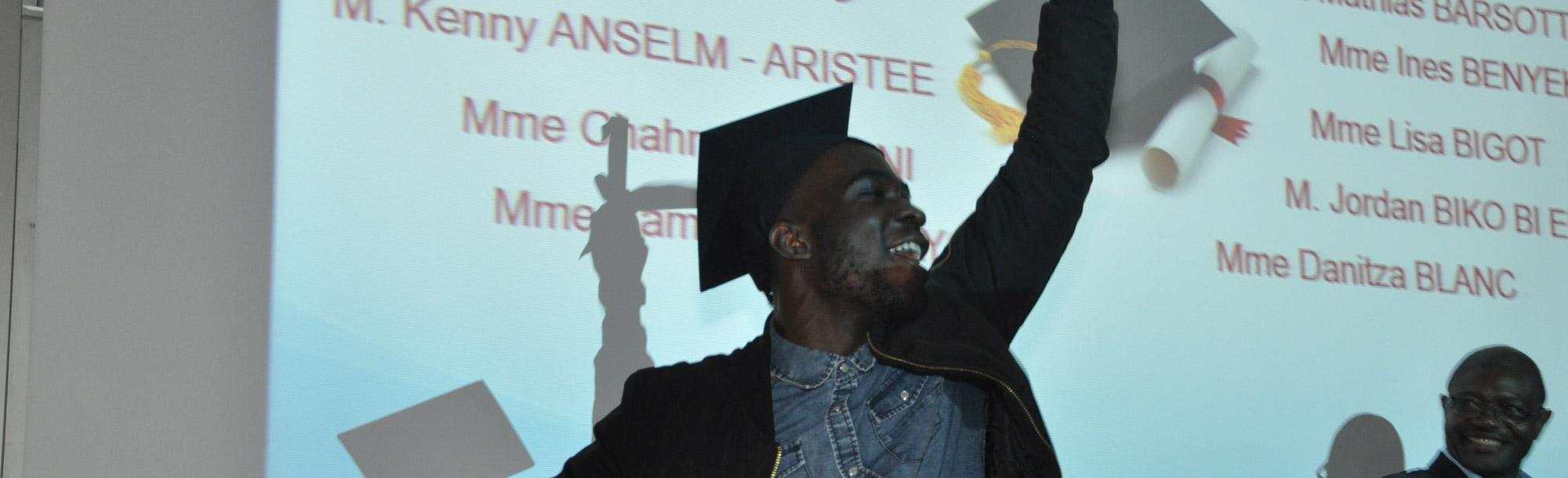 1ère cérémonie de remise des diplômes GEA